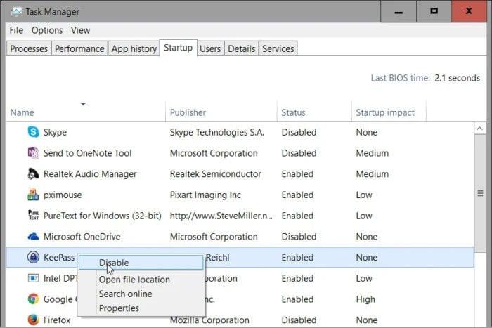 Programy automaticky spouštěné při zavádění operačního systému Windows vám přehledně zobrazí Správce úloh. Kromě toho vám pomůže s výběrem těch, u nichž je vhodné automatické spouštění zachovat.