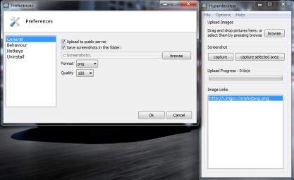 Pomocí Hyperdesktop snadno sdílíte screenshoty na serveru imgur.com