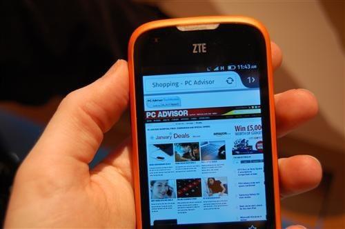 Firefox OS ZTE Open