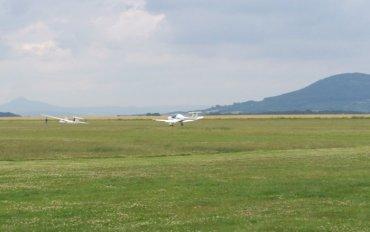 Letiště Chrudim, letadlo