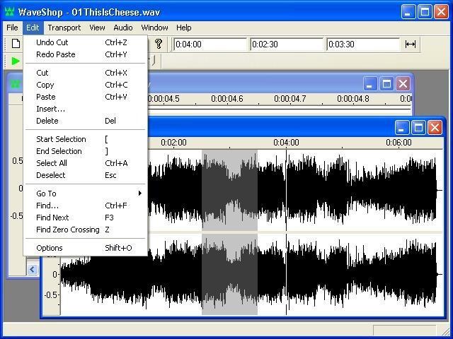 Pomocí WaveShop upravíte audio soubory snadno a rychle