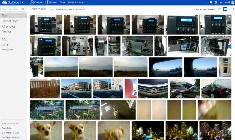 SkyDrive je velmi důvěryhodnou a snadno použitelnou službou pro zálohování vašich dat