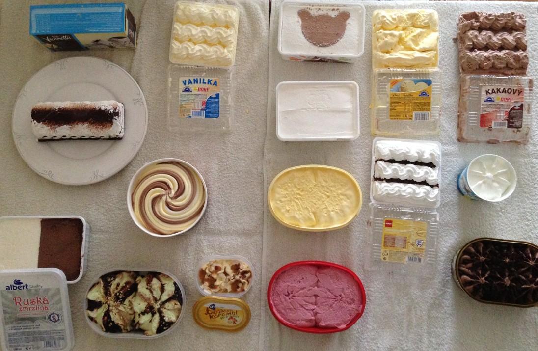Zmrzlinový test