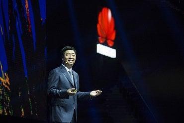 Ken Hu, výkonný ředitel společnosti Huawei.
