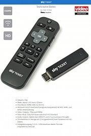 Technická specifikace Sky Ticket TV Stick