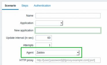Zabbbix 3.0 web scen zabbix