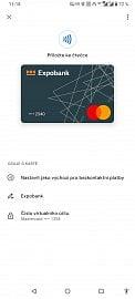 Platební karty Expobank od 8. 2. 2021 podporují Google Pay.