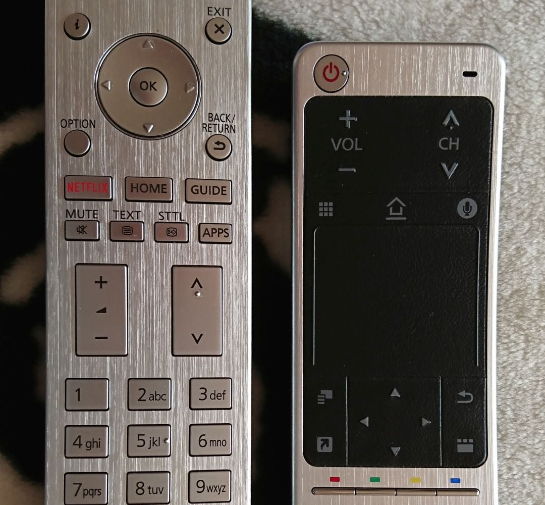 Panasonic TX-65EZ950 - dálky