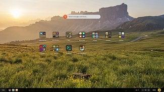 Root.cz: Endless OS: desktop se vzhledem Androidu