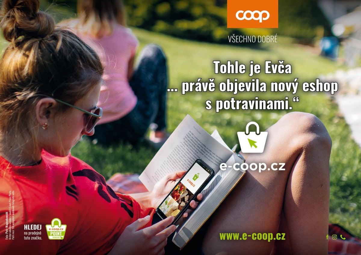 COOP spustil e-shop