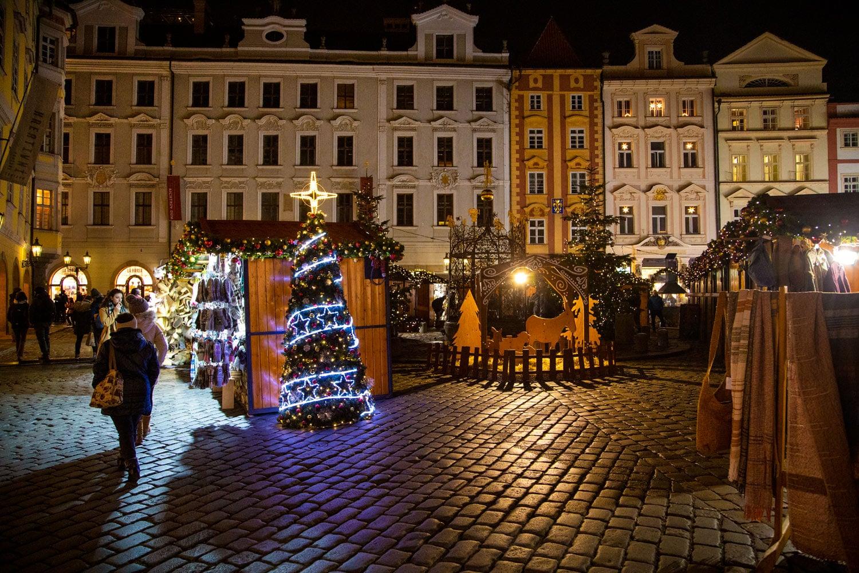 Vánoční trhy v Praze 2019