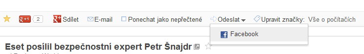 google reader - fb