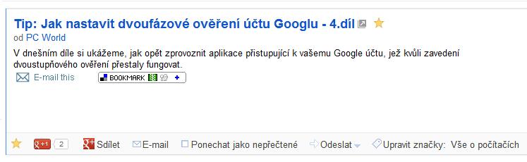 google reader - sdileni
