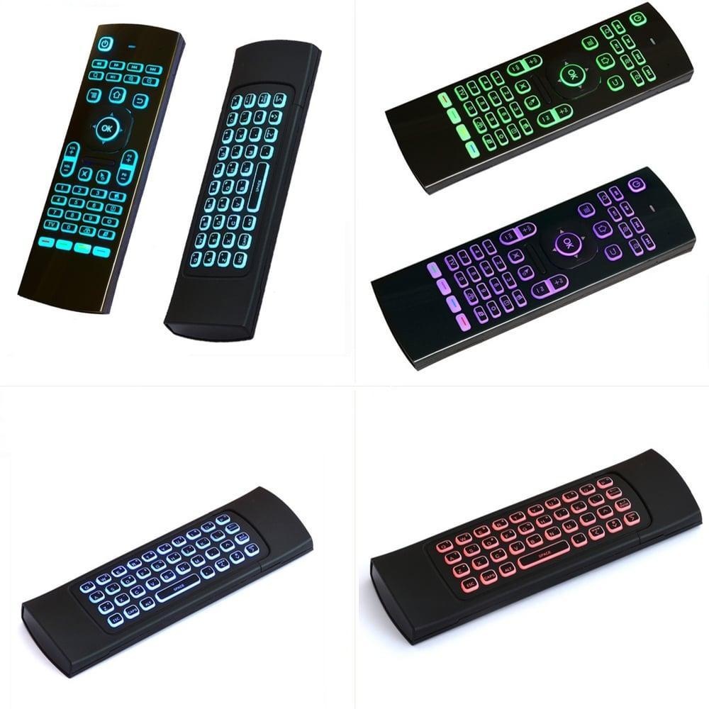 MX3 – L Colorful Backlit Air Mouse