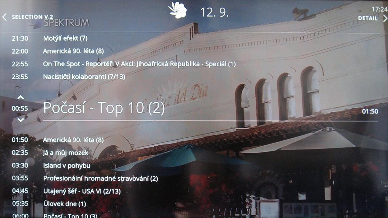 O2 TV - detail programu