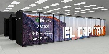 Superpočítač El Captain od Hewlett Packard Enterprise (Cray) má dosáhnout na 2 exaFLOPS