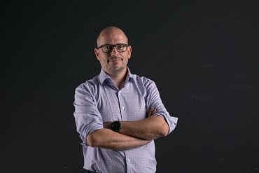 Martin Frývaldský, výkonný ředitel Warhorse Studios