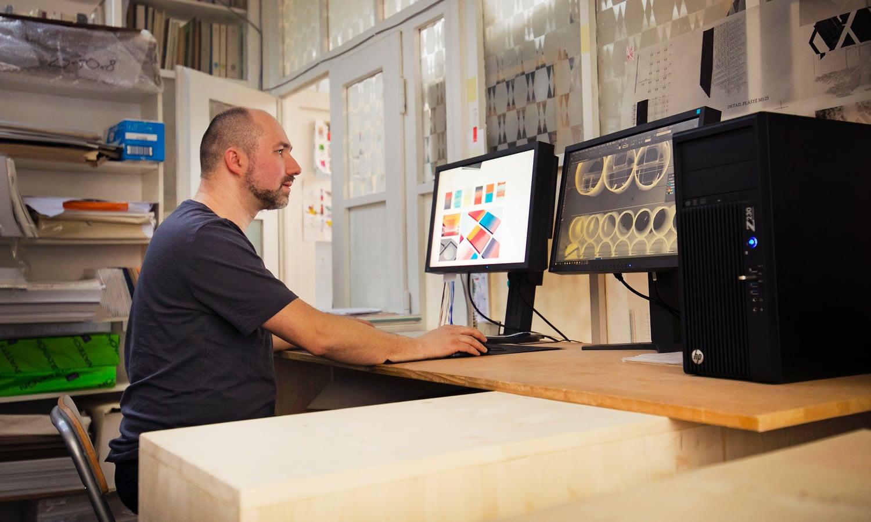 Návštěva v grafickém studiu a papírnictví Voala