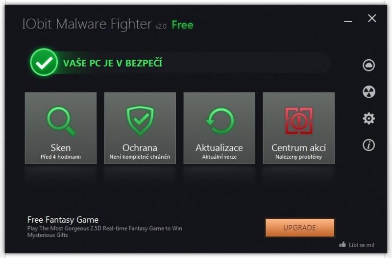 IObit Malware Fighter vás ochrání před IObit Malware Fighter vás ochrání před škodlivým softwareškodlivým