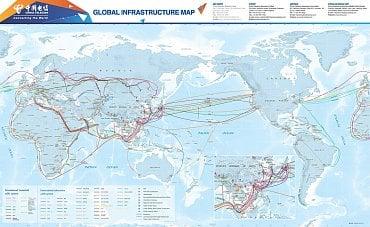 Globální infrastruktura China Telecom