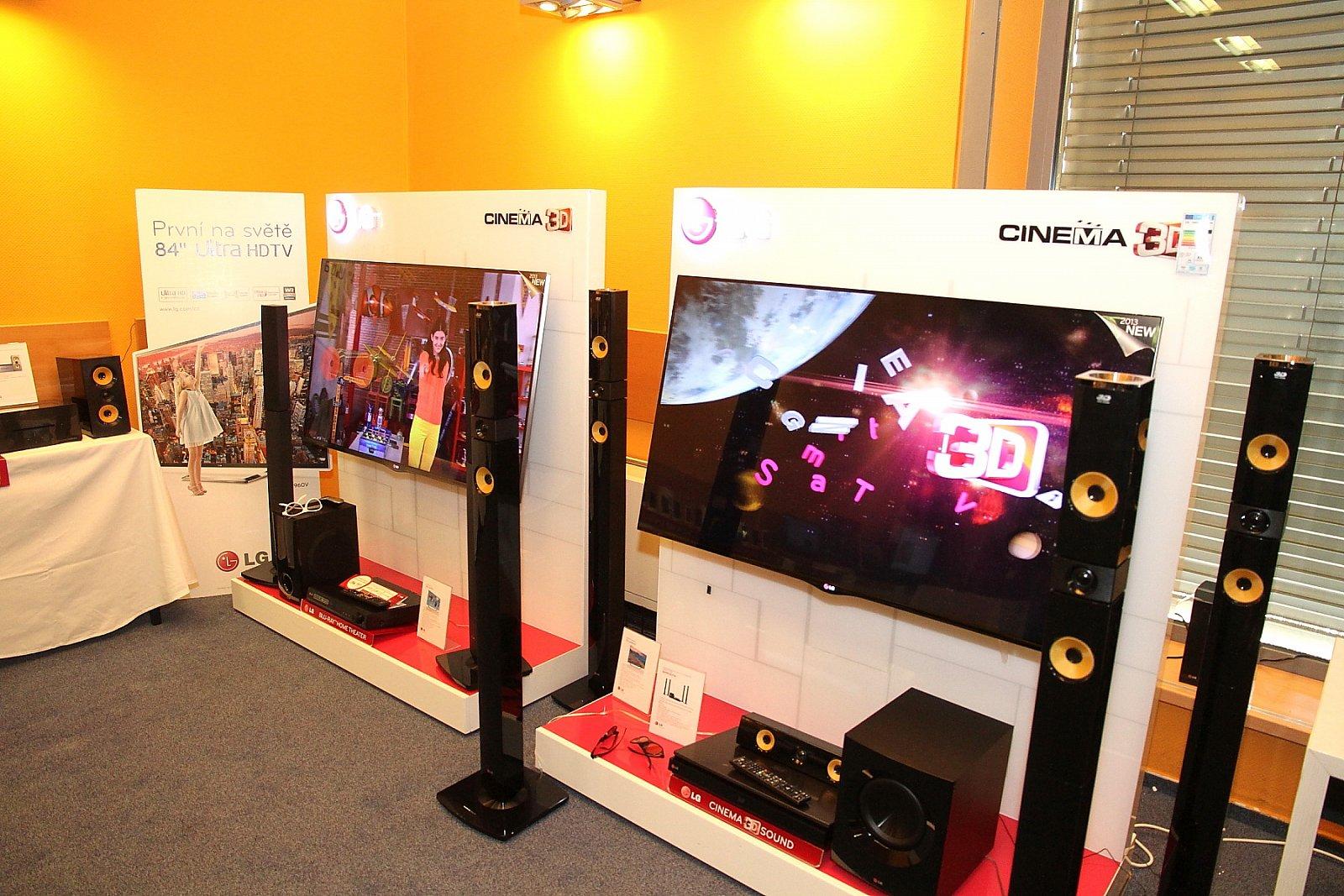 LG Electronics - představení novinek pro rok 2013