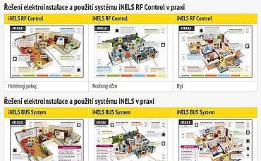 Na níže uvedeném webu najdete několik případových studií z nichž se lépe seznámíte s řešením iNELS.