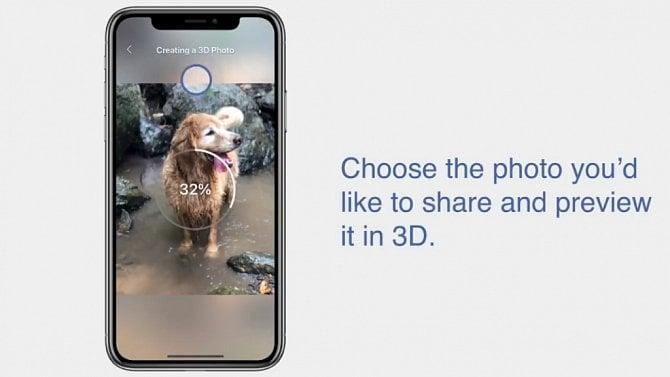 [aktualita] Facebook přichází s 3D fotografiemi, pořídit je můžete zatím jen na iPhonech