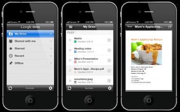 Google Drive pro iOS