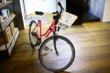 Sdílené kolo od společnosti REKOLA Bikesharing s.r.o..