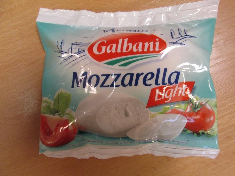 Šizená mozzarella