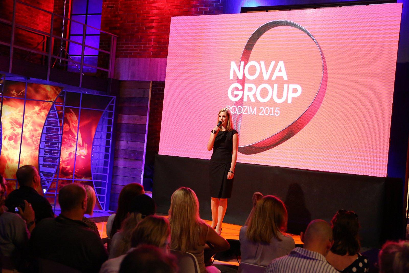 Tisková konference televize Nova, podzim 2015