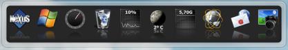 Winstep Nexus přidá na Plochu dokovací panel pro rychlý přístup