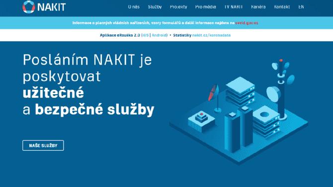 [aktualita] Státní IT podnik NAKIT měl loni tržby 1,3 miliardy, skoro stejné jako rok předtím