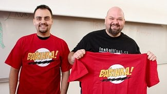 Bařinka tričko InstallFest 2017