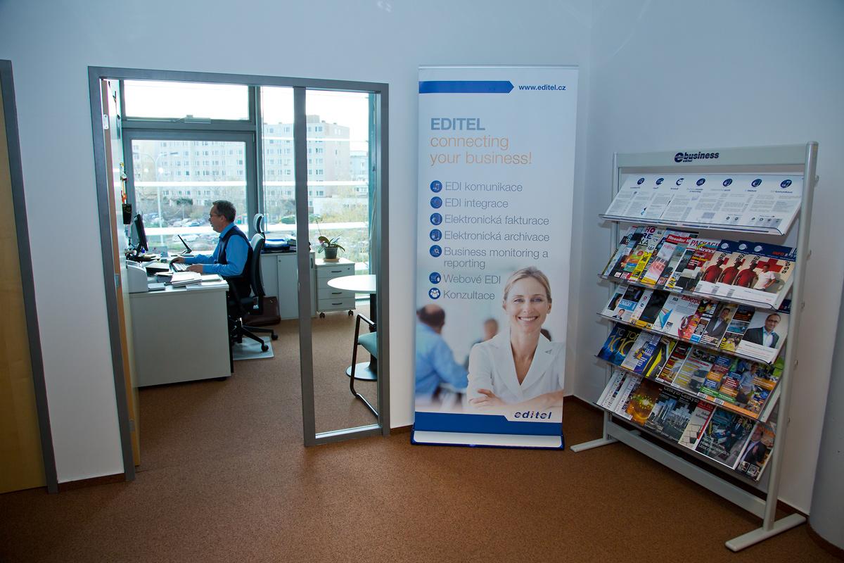 Na návštěvě u firmy Editel