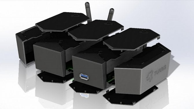 [aktualita] CZ.NIC chystá nový Turris, router má být modulární a půjde znovu na Indiegogo