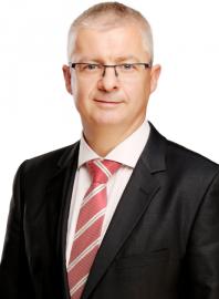 Uwe Berthold, ředitel oddělení Commerzbank Transaction Services pro Česko a Slovensko. (11/2015)