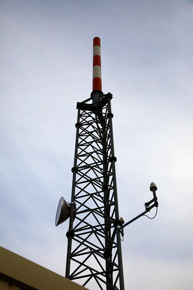 Vysílač Digital Broadcasting na pražské Novodvorské