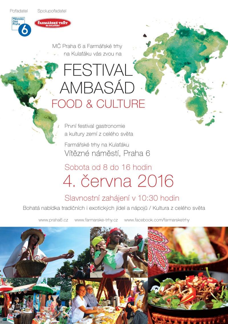 Na Kulaťáku bude farmářský trh i Festival ambasád