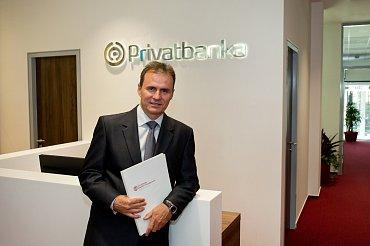 Radovan Jakubčík, generální ředitel reprezenace Privabanky v ČR