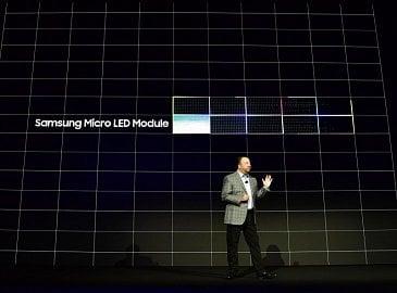 Prezentace modulového systému se Samsung Micro LED.