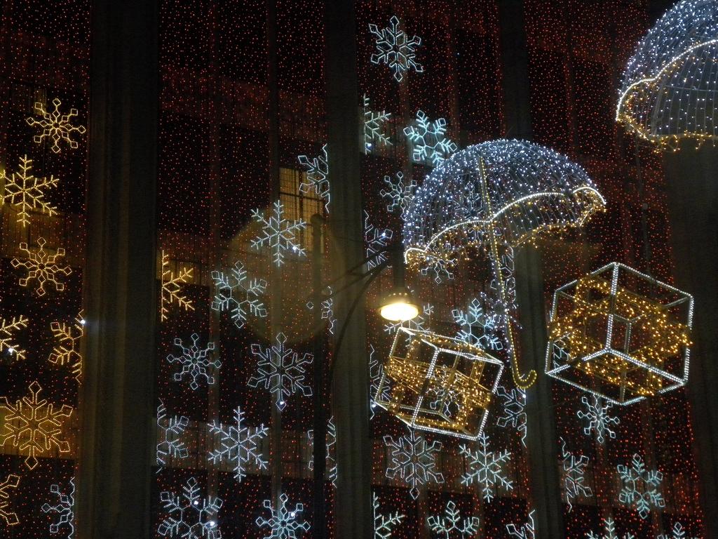 Vánoční výlohy, které mohou inspirovat
