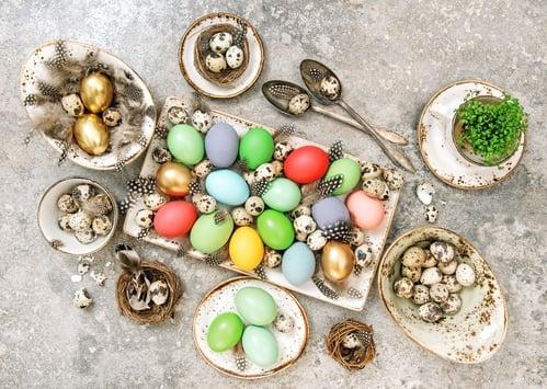 Velikonoční prostírání