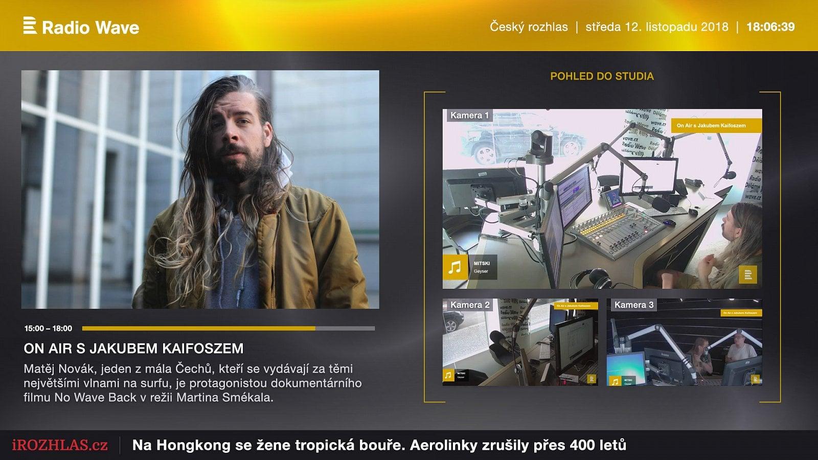 Vizuální rádio Wave nově u O2 TV