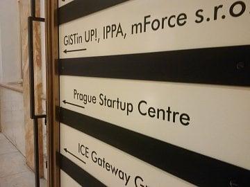 Prague Startup Centre v paláci Adria.