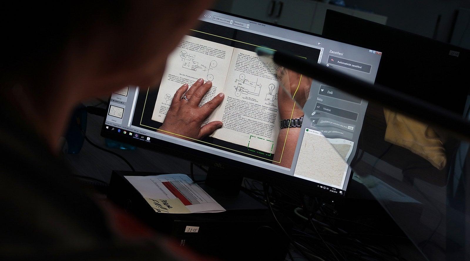 Digitalizace knih a časopisů v Národní knihovně