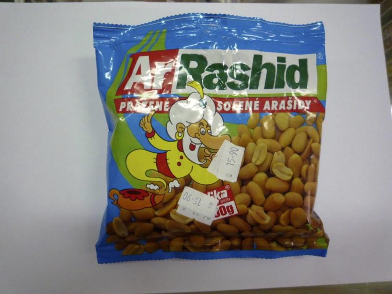 Zkažené a napadené ořechy
