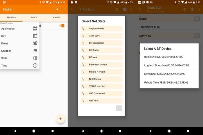 Aplikace Tasker okáže zautomatizovat orientaci obrazovky smartphonu