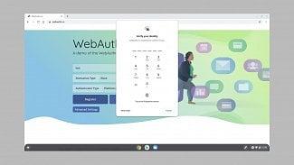 Chromebook WebAuthn