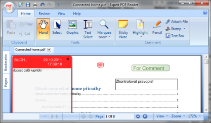 Expert PDF Reader si poradí s PDF a zvládne jejich úpravu